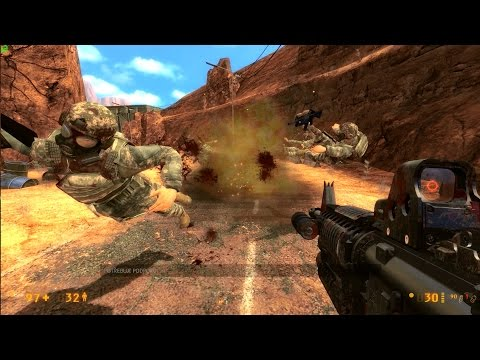 Black Mesa - SURFACE TENSION - Desert Eagle, Glock & M4