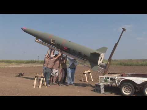 LDRS 27 Pershing Q-motor Flight - High Power Rocket Launch