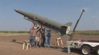 LDRS 27 Pershing Q-motor Flight - High Power Rocket Launch