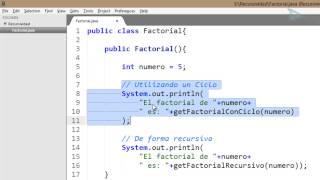 Recursividad en JAVA Cap 01 - Introducción