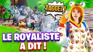 LE ROYALISTE A DIT DANSER sur FORTNITE !!