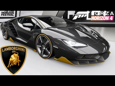 Forza Horizon 4 Lamborghini Centenario Customization Top Speed