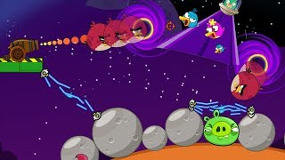 Angry Birds Collection Hacked 5 - SHOOT BAD PIGS THROUGH BLACK HOLE IN SPACE!