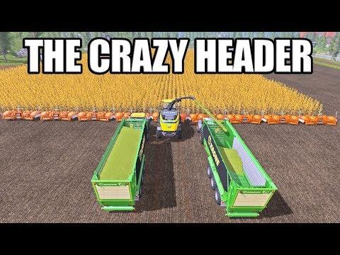HOW WIDE CAN YOU MAKE A HEADER? - Farming Simulator 17
