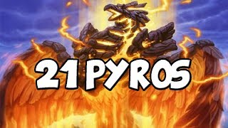 21 Pyros In One Game
