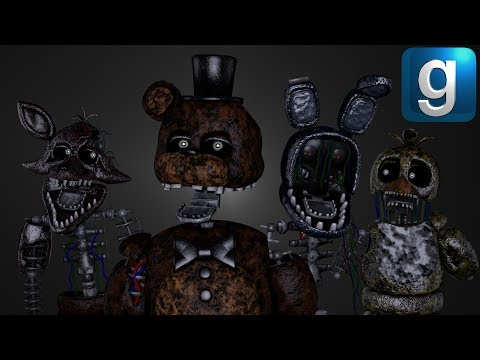 Gmod FNAF | The Rise of The Ignited!