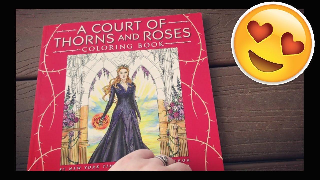 Acotar Coloring Book It S So Dang Beautiful Youtube
