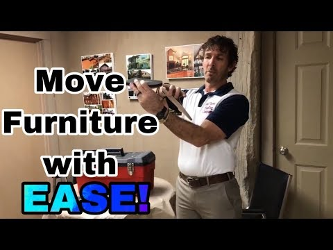 How To Use Furniture Sliders To Move Heavy Furniture- Warsaw, Syracuse, Goshen And Columbia City, IN