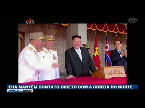 EUA Mantêm Contato Direto Com A Coreia Do Norte