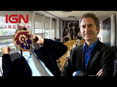 Blizzard CEO Meets With World of Warcraft Nostalrius Server Developers - IGN News