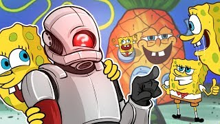 THE SPONGEBOB APOCALYPSE!! -  GMod Prop Hunt Funny Moments (Garrys Mod Gameplay)