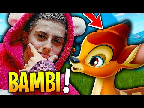 JE FAIS TOP 1 MODE BAMBI SUR FORTNITE BATTLE ROYALE !!!