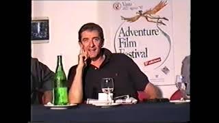 Ezio Greggio a Vasto 1997 Adventure FIlm Festival di Franco Cauli 2 - 23/08/1997