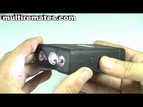 Pistola electrica taser paralizante voltios auto defensa tester electroshock paralizador recargable