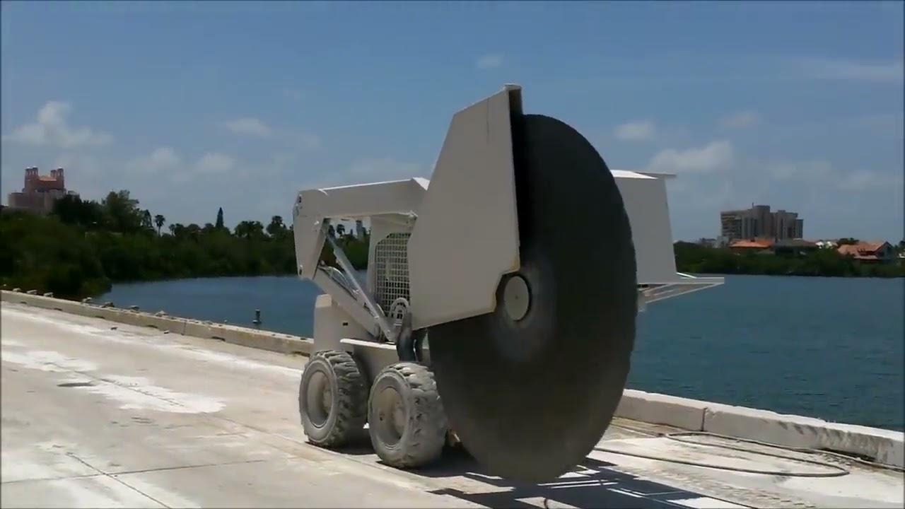 Accu Cut Concrete Giant Saw 91 Quot Diamond Blade Sawing