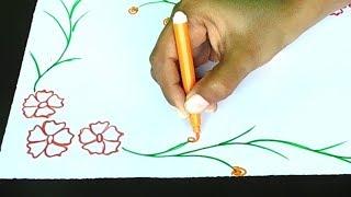 Border designs on paper | project design | border designs | border design | project design ideas