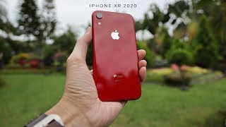 Gambar cover Review Iphone Xr di tahun 2020