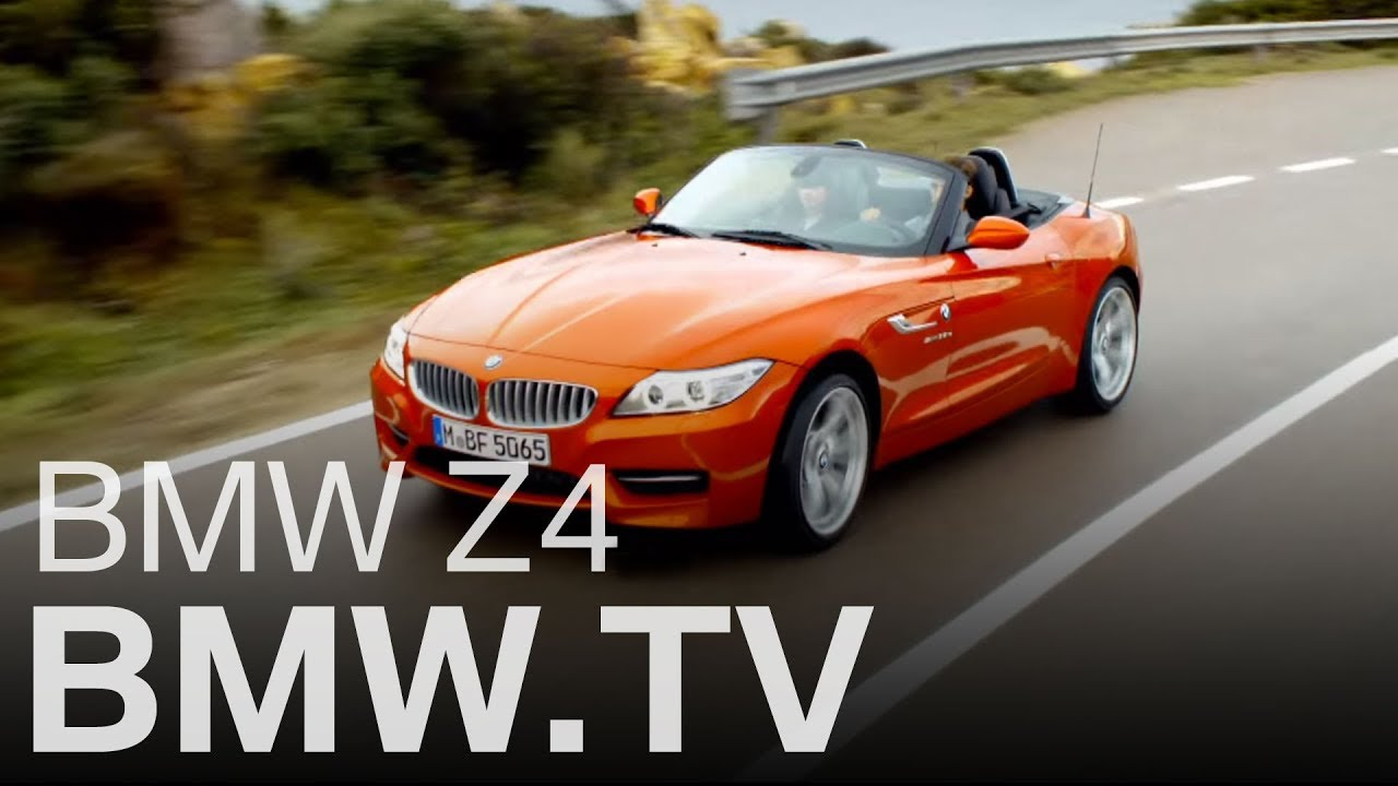 Der Neue Bmw Z4 Roadster Youtube