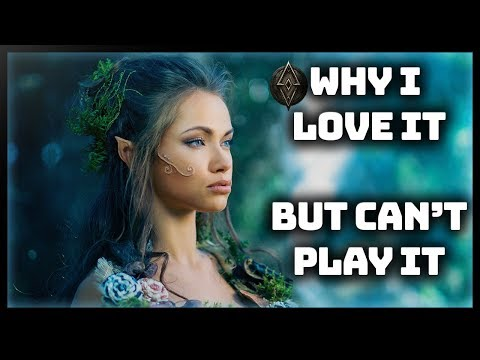 Why I Love Elder Scrolls Online Review (Elsweyr) - 💠But Can't Play It (1080p MMORPG)