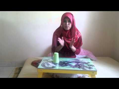 Cup Song Tutorial By Angela Fauziah, Indonesia.
