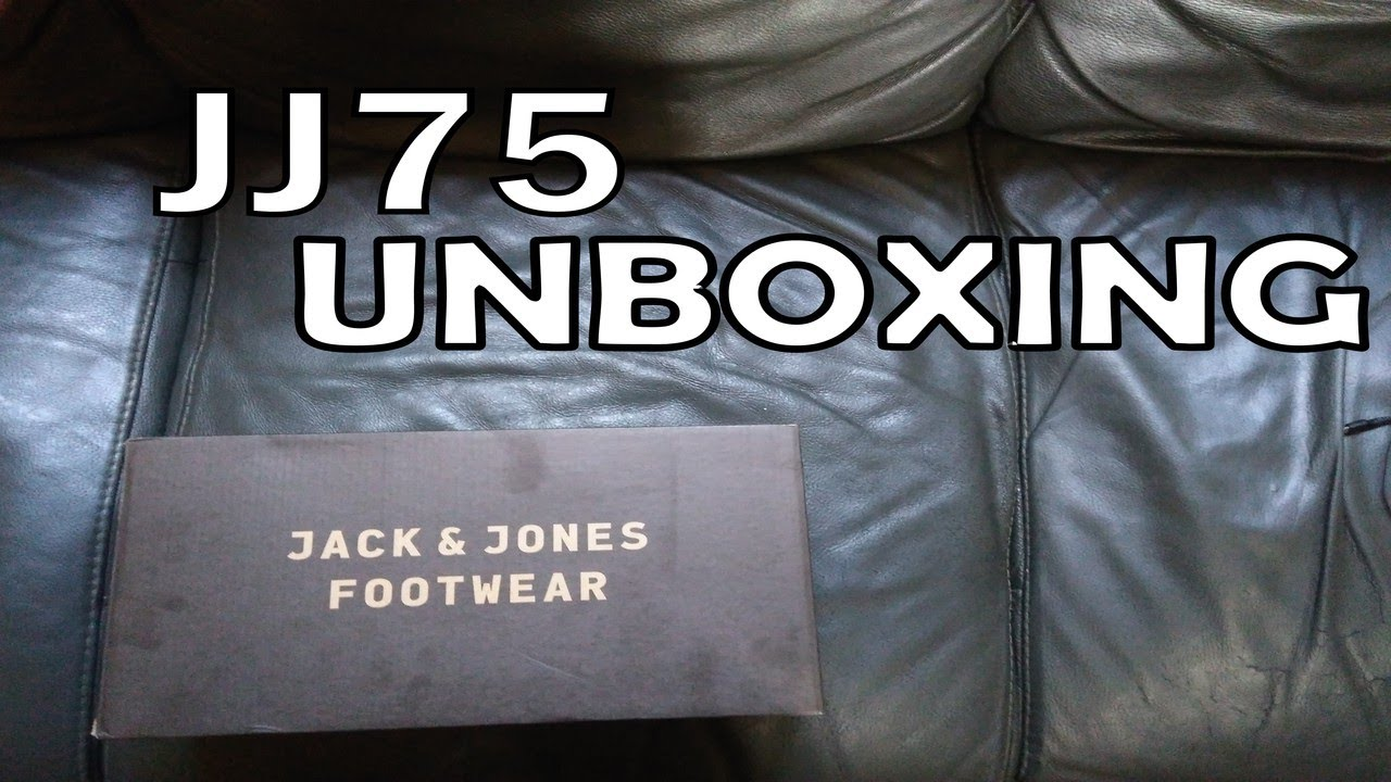 lowest price a3457 719b8 Jack and Jones JJ75 Shoes - Unboxing