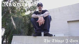 Смотреть клип Mr.Criminal - The Things I Seen