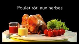 Choumicha : Poulet rôti aux herbes (VF)