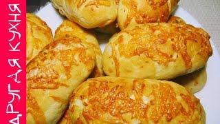 Булочки с сыром и чесноком (быстрый рецепт)