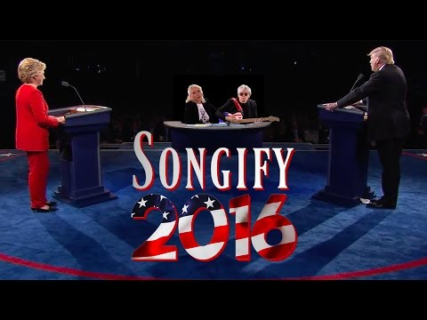 TRUMP VS. CLINTON (ft. Blondie) - Songify 2016