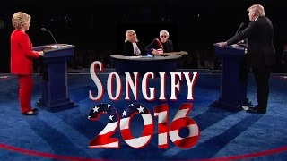 TRUMP VS. CLINTON (ft. Blondie) - Songify 2016 by : schmoyoho