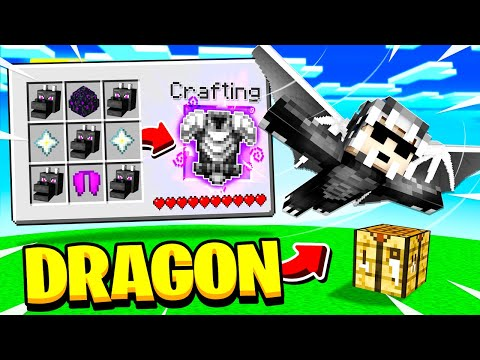 CRAFTING Mob ARMOR In MINECRAFT!