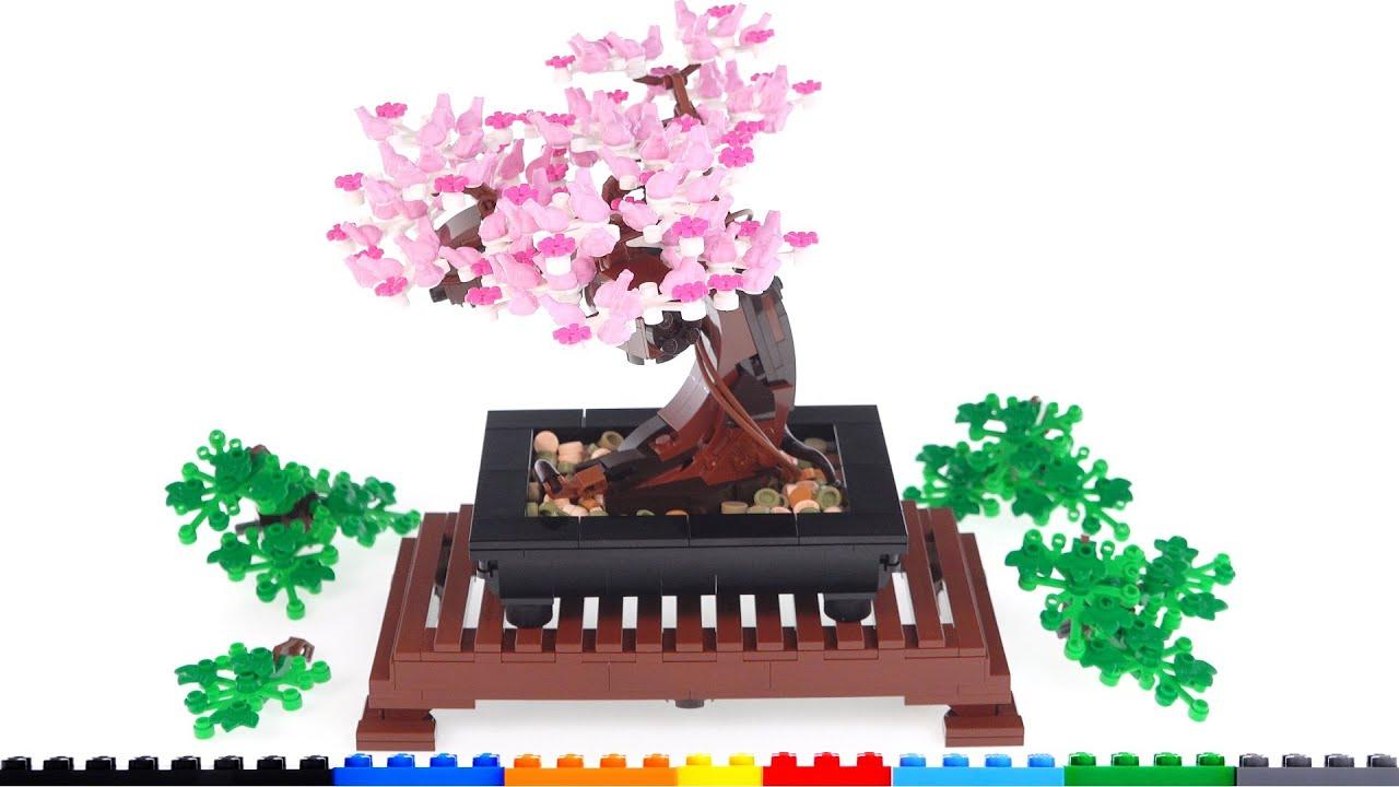 Beautiful Inspiring Inexpensive Lego Bonsai Tree Reviewed Botanical Collection Set 10281 Youtube