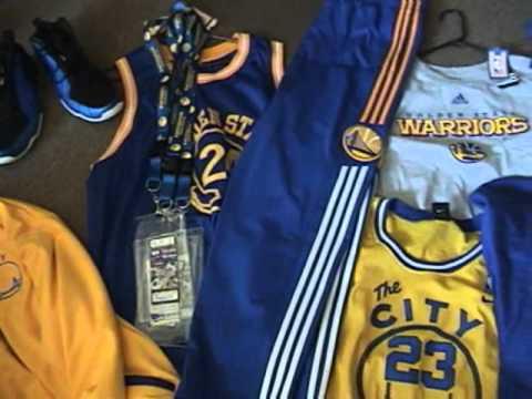 Golden State Warrior Gear.