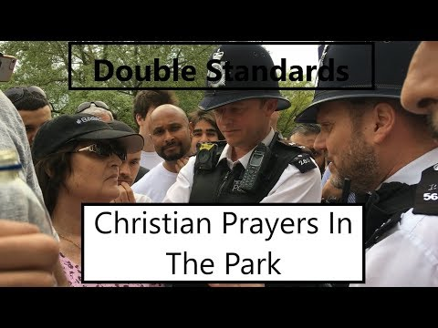 Christians Praying in the Park - Double Standards? [ft. Police, Hijab, Amy]
