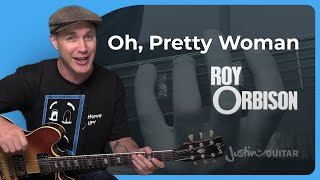 How to play Oh Pretty Woman by Roy Orbison (Guitar Lesson SB-416)