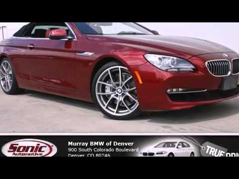 Used 2012 BMW 650i Convertible Denver CO 80246  YouTube
