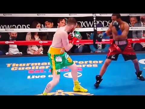 """Mr."" GARY RUSSELL JR. 2nd Round KO Over Patrick Hyland!"
