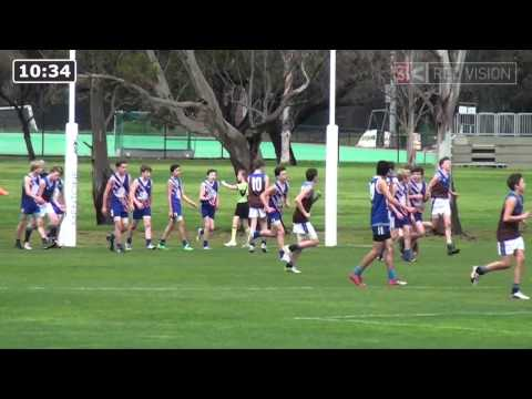 SMJFL 2014 Under 14 Div 5 - East Malvern Knights White v Ormond Blue