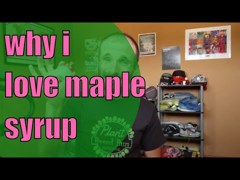Why I love maple syrup for running fuel.