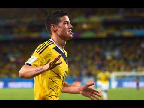 James Rodriguez double GOAL 2-0 Colombia vs Uurguay 2014 World Cup REVIEW