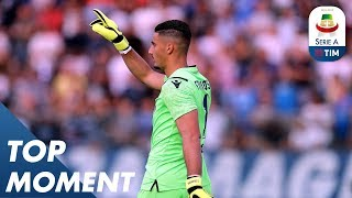 Outrageous Strakosha Save For Lazio! | Empoli 0-1 Lazio | Top Moment |  Serie A
