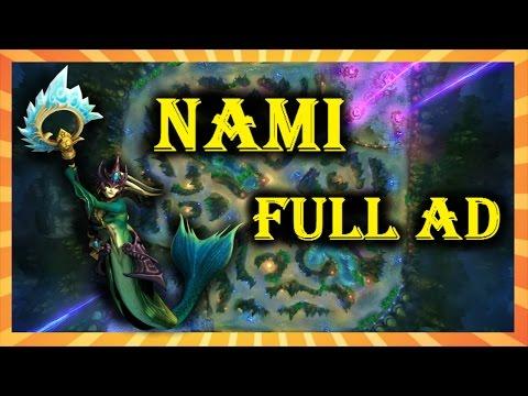 Nami Full AD  |  League of Legends