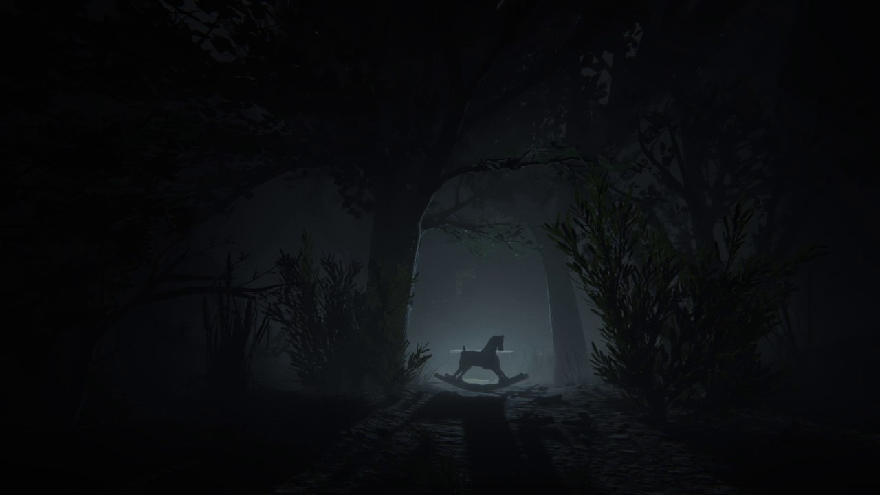 Image result for video game scary woods