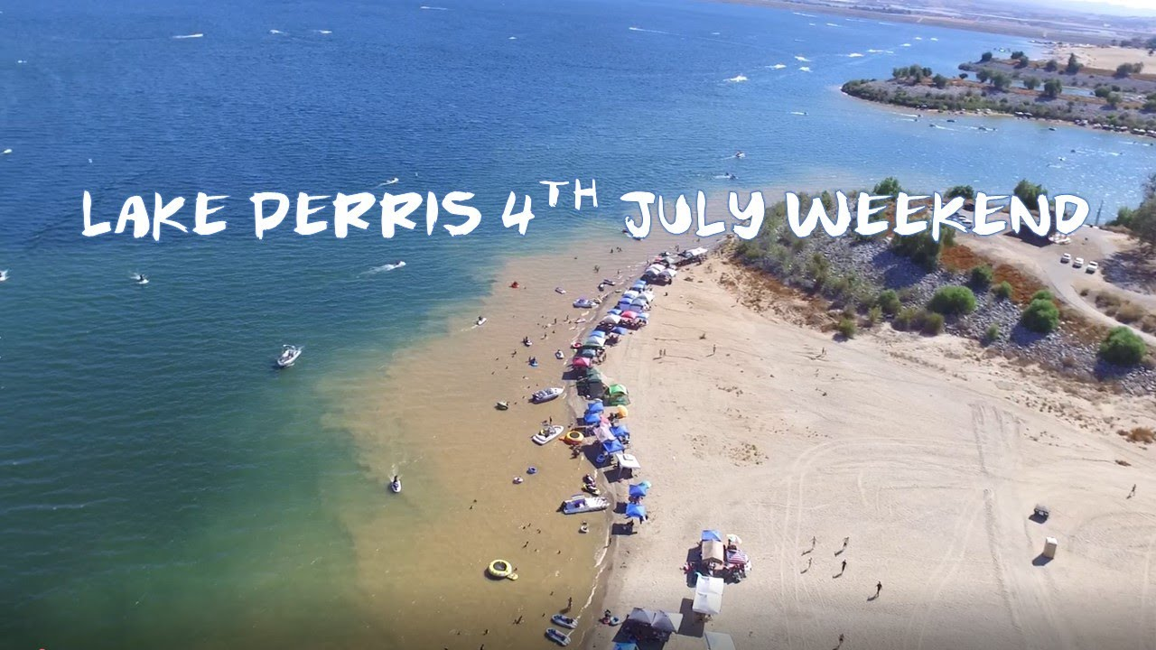 Lake perris july 2017 with drone youtube for Lake perris fishing report