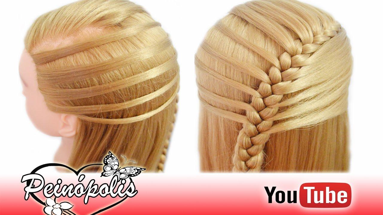 Peinados Semirecogidos Con Trenzas Para Ninas Trenza Faciles Para