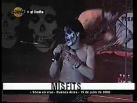 THE MISFITS @Museum - Bs. As. Argentina - 15-07-2000
