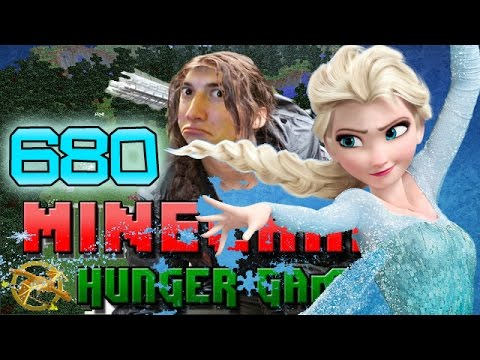 Minecraft: Hunger Games w/Bajan Canadian! Game 680 - FROZEN IN PLACE, ELSA STYLE!