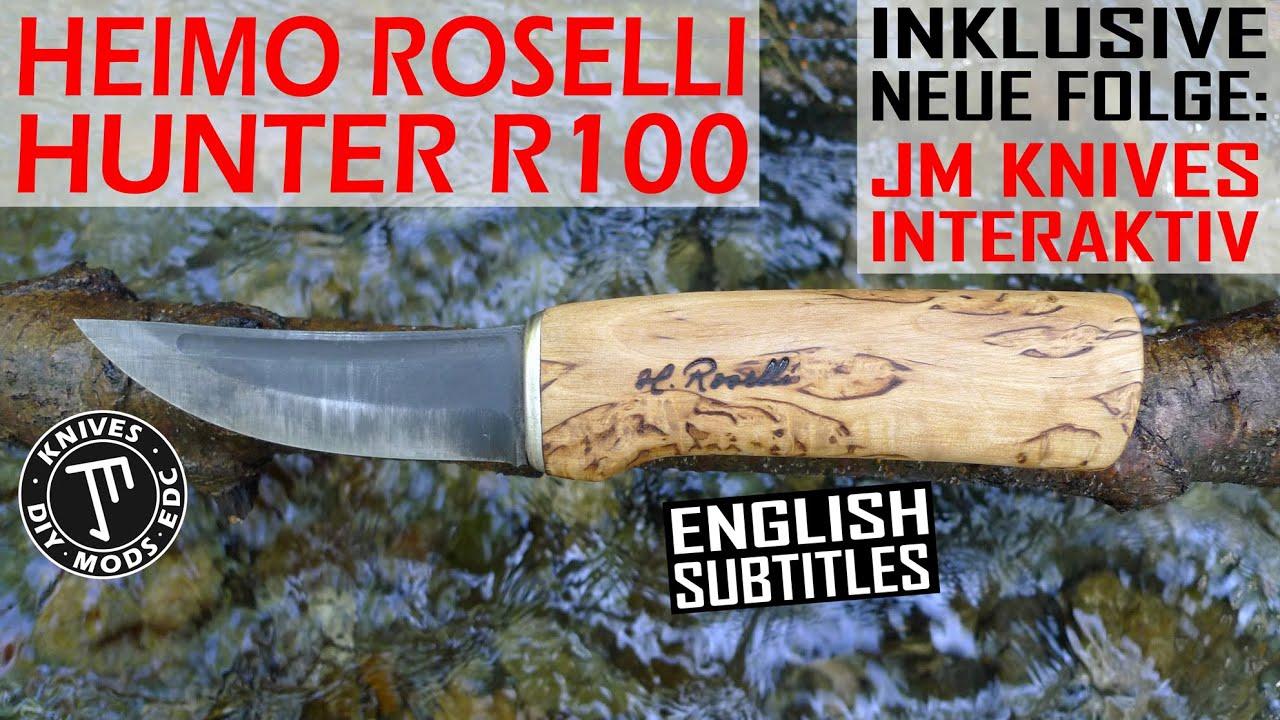 Download Roselli Hunter R100 ...nordisch, praktisch, gut      ⏯️ inkl. neue Folge interaktive Messerwahl