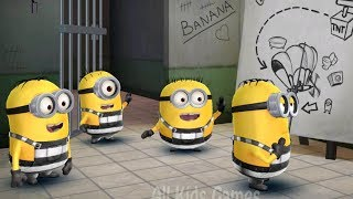 Despicable Me - Minion Rush : Prisoner Minion And Special Mission : Minion Break !