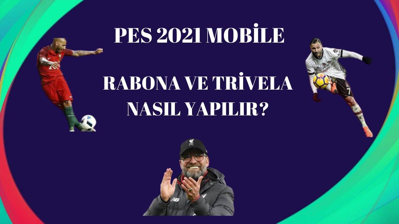 RABONA Skill Tutorial PES 2021 Mobile